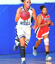 Jah-Lea Ellis, a native of Harlem, was named a national All-American.