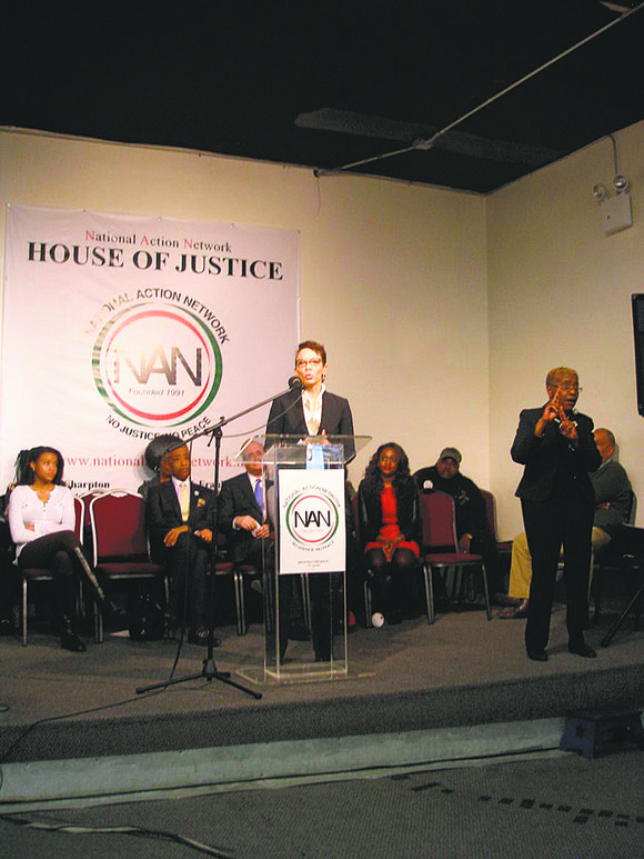 Comptroller Scott Stringer selected the friendly confines of the National Action Network (NAN) to announce Carra Wallace as his first ...