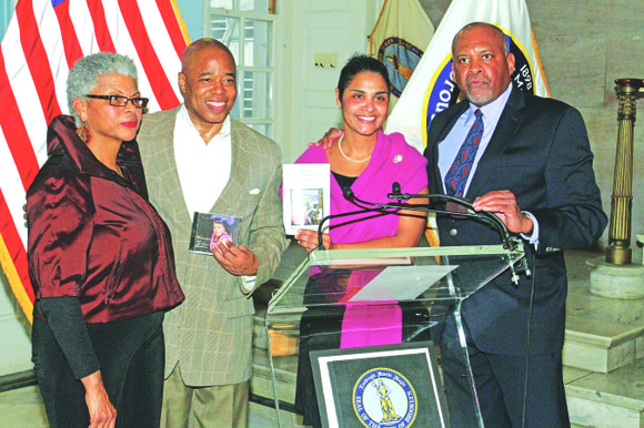 Brooklyn Borough Hall was the place to be for the 15th annual Central Brooklyn Jazz Festival