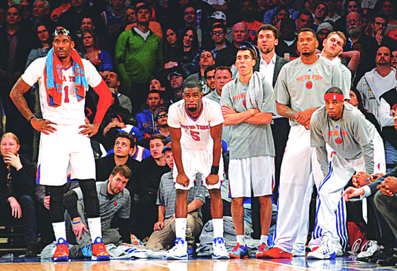 It is with great sadness and a heavy heart that I remind you of the Knicks' eight-game winning streak ending ...