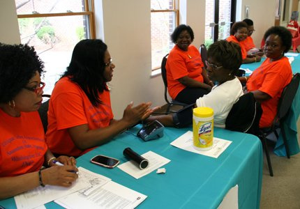 The Annapolis Alumnae Chapter of Delta Sigma Theta Sorority, Inc. held the fifth annual health fair at St. Philip's Episcopal ...