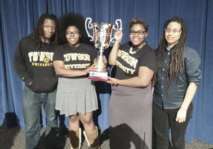 Towson University Debate Team members Ameena Ruffin '15 and Korey Johnson '16 won the Cross Examination Debate Association (CEDA) national ...