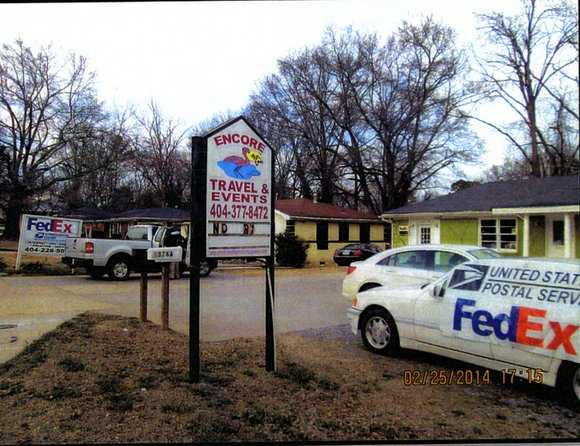 The FedEx Postal Center on Candler Road has been operating illegally for three years.