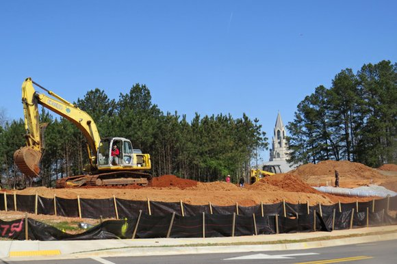 A Waffle House restaurant on Flat Shoals Parkway in Decatur is finally taking shape.