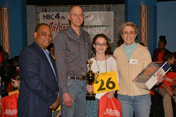 A middle school student has her sights set on a national competition after snatching victory away from the District's best ...