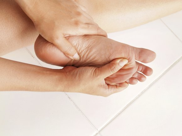 Diabetics have to take special care of their feet. The disease can cause peripheral neuropathy—otherwise known as nerve damage.