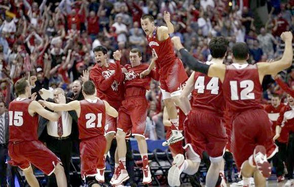 ANAHEIM, Calif., - Frank Kaminsky scored six of his 28 points in overtime and pulled down a team-high 11 rebounds ...