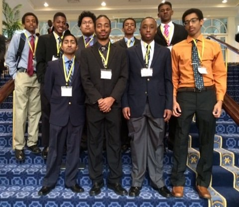 A group of Wheaton High School students triumphed recently at the National Society of Black Engineers' annual convention, finishing ahead ...