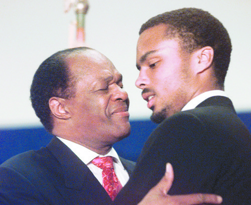 There's been chatter in Ward 8 on who will succeed Marion Barry and his son's name has come up repeatedly.