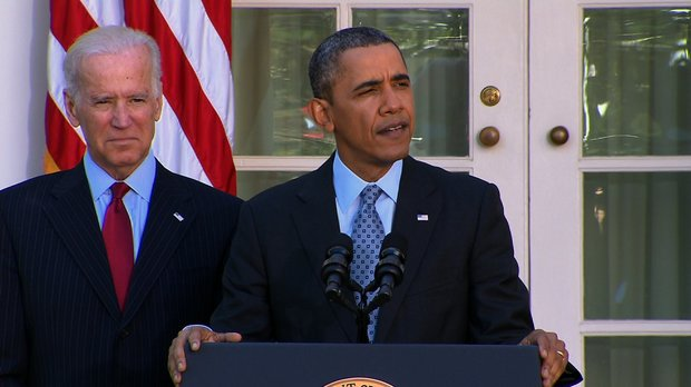 President Barack Obama makes a statement on the Affordable Care Act - or Obamacare - at the White House on Tuesday, April 1, 2014, a day after the registration deadline.