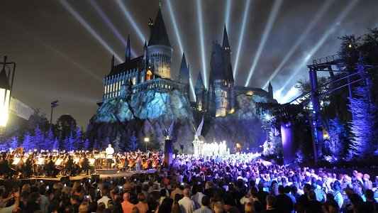 The Wizarding World of Harry Potter at Universal Orlando Resort has been a crowd-pleaser since it opened in 2010. The Florida park is No. 9 on the list.