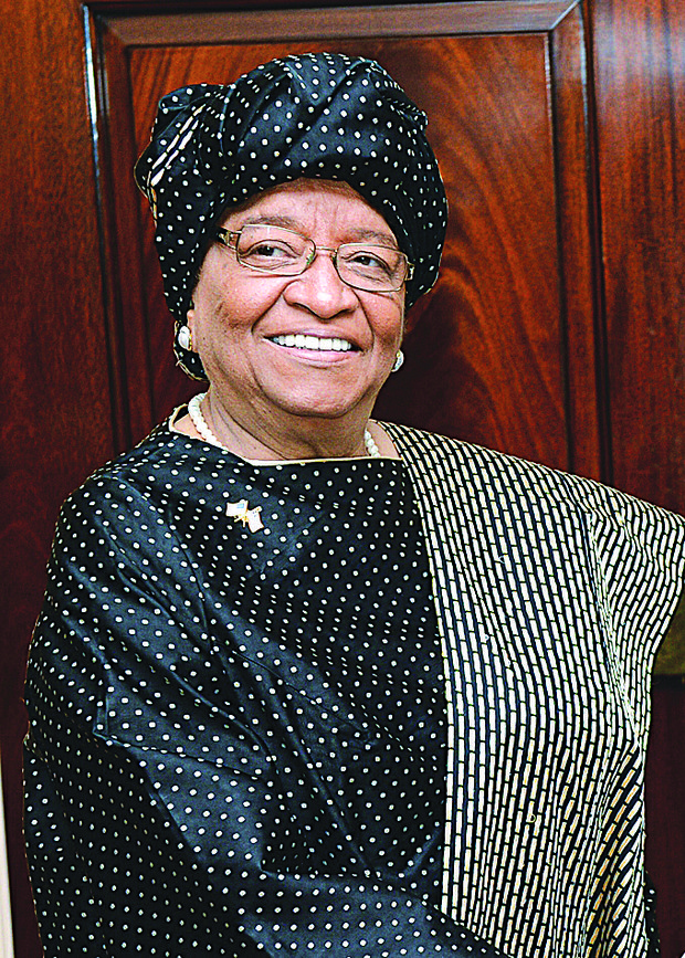 Liberian President Ellen Johnson Sirleaf (Wikipedia Commons)