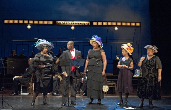 "A concert musical adaptation of the Broadway show ""The Music Man"" by Evans Haile uplifts and ignites bursts of laughter ..."