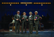 The Barbershop Quartet (L to R): Bernard Dotson, Kevin R. Free, Trent Armand Kendall and Lawrence Clayton