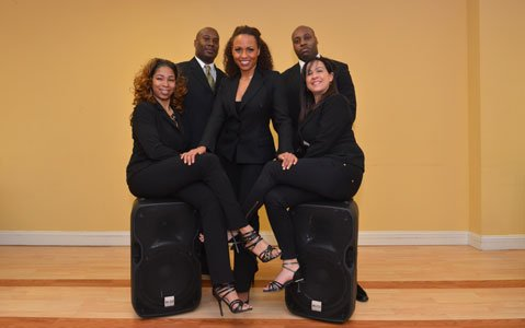 UNIK Latin Dance Company of Baltimore was born in 2014 out of a desire to make the Latin dance scene in the Baltimore area stronger and more diverse.  (Left to right) Tabitha Holliday, Cedric Teamer, Nancy Alers, Brandon Ross and Claudia Barraza dance instructors with UNIK Latin Dance Company.