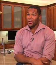 Former NFL star Michael Strahan talks to CNN.