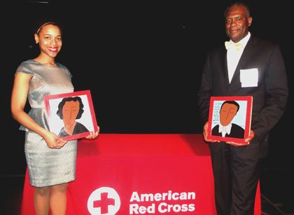 Jessica Turral and Dr. Carnell Cooper are hometown heroes.