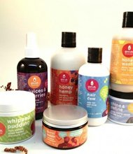 A variety of all-natural body-care products from Oyin Handmade, which are available at Target Stores. Oyin Handmade is owned and operated by Charm City husband and wife team Pierre and Jamyla Bennu. Jamyla Bennu began creating homemade hair and body products in 2001. Oyin Handmade products are designed with a focus not only on aesthetics and styling, but the nourishment and health of hair and skin.