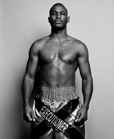 A photo of boxing legend Bernard Hopkins will be donated to the Smithsonian's National Portrait Gallery.