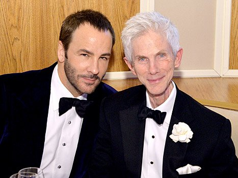 Tom ford and his husband
