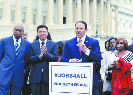 Civil rights groups, labor organizer and their allies are stepping up pressure on Congress to pass legislation raising the minimum ...