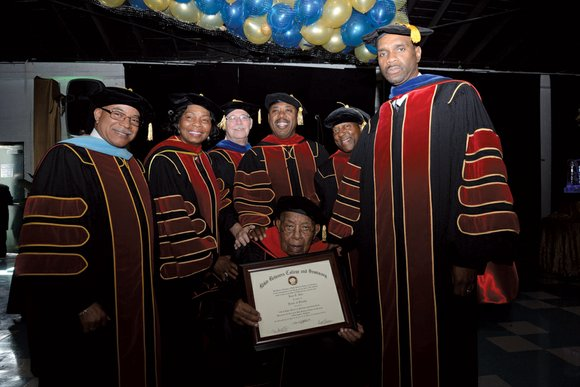 Dr. Leon T. Garr recently celebrated his 100th birthday and received an Honorary Doctor of Divinity from Bible Believers Christian ...