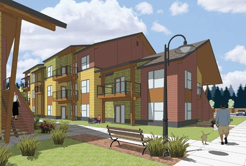 Construction has begun for a new mixed-income, multi-famly housing complex in Vancouver thanks to US Bank and the Vancouver Housing ...