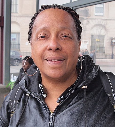 Yes, so we can get ahead. The government runs the country. We should be part of it. — Jerri Francis, Administrative Assistant, Dorchester