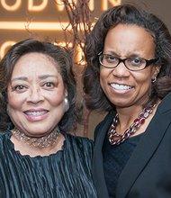(l-r) U.S. Magistrate Joyce London Alexander and U.S. District Judge Denise Casper