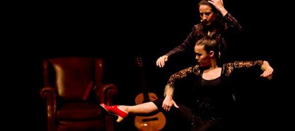 """Rocio Molina and Rosario Guerrero, aka """"La Tremendita,"""" in """"Afectos"""" at the Baryshnikov Arts Center (March 20) were fiery! Molina's ..."""