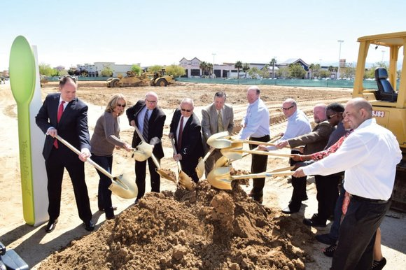 Palmdale officials, developers and representatives from several retailers gathered recently to celebrate the groundbreaking of the city's newest shopping center, ...