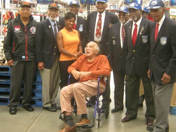 Tuskegee Airman Harry Rock of Decatur will receive a Congressional Gold Medal replica from U.S. Rep. John Lewis at an ...
