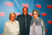 "Kenny Leon, the director of ""A Raisin in the Sun"" posed with Mamie Hansberry (left), sister of Lorraine Hansberry, and Joi Gresham, director of the Lorraine Hansberry Literary Trust on Thursday night during the play's premiere on Broadway."
