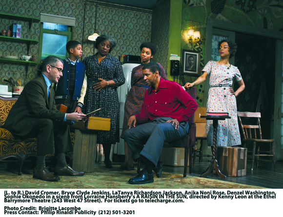"""A Raisin in the Sun"" is superb! This production is powerful! There is such raw, real and passionate emotion. Lorraine ..."