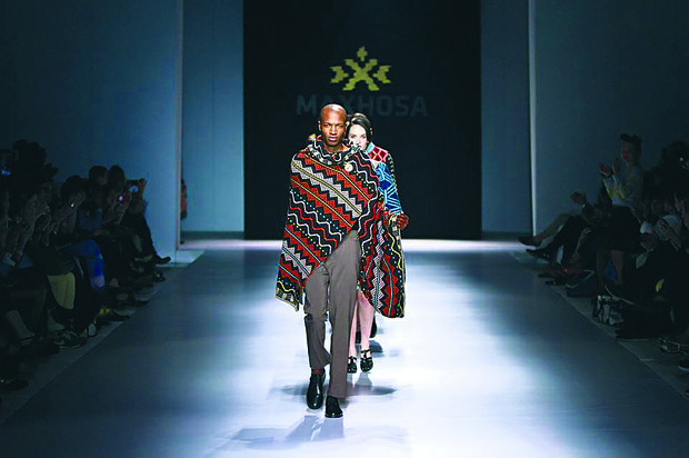 Fall-winter 2014 designs by African Fashion International designers