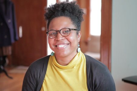 """Angel Kristi Williams has returned to Baltimore to film her new movie """"Charlotte,"""" which explores the development and relationship of two young women. She plans to screen the film to audiences in Baltimore by the end of summer before taking it to the various film festivals."""