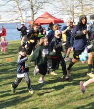 "Children take part in the ""Kids Fun Run.""  Photo Credit: One Rock Studio"