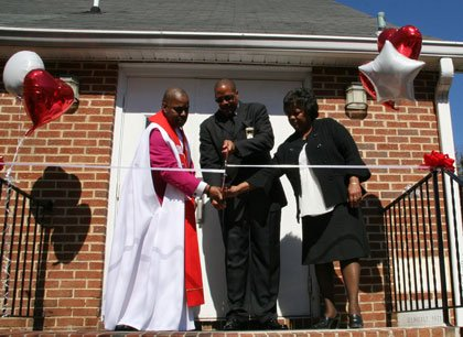 On April 6, 2014, a breezy sunny Sunday morning, Mt. Calvary United Methodist Church held it's grand reopening ceremony on ...