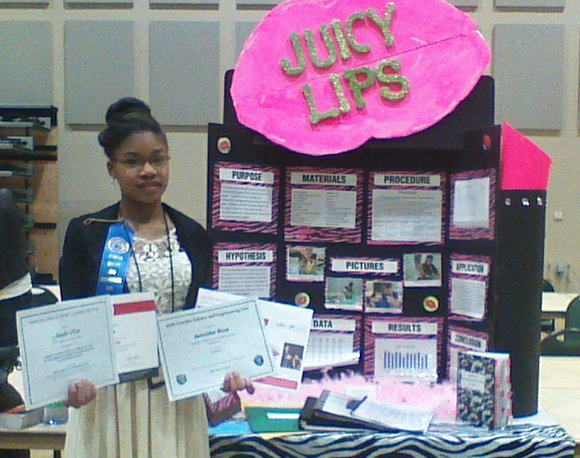 Mount Carmel Christian School eighth-grader Jennifer Rice walked away with two first-place wins at the Georgia Science and Engineering Fair ...