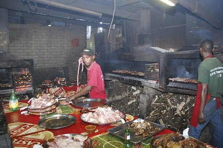 Prep work takes time -- braai often feature drinks and snacks for two to three hours before the main dishes are served.