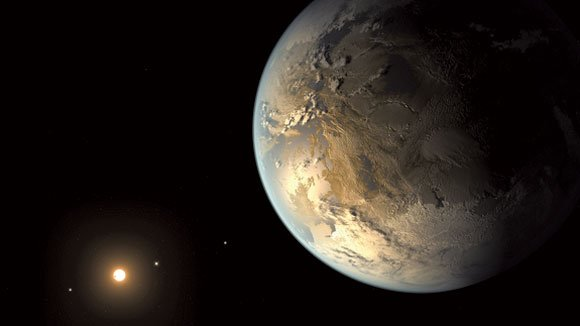 Astronomers using the Jet Propulsion Laboratory-developed Kepler Space Telescope have discovered the first planet that is about the same size ...