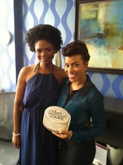 TeamStyleMag Franceli Chapman with Actress Kimberly Elise