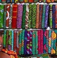 Nigerian textiler