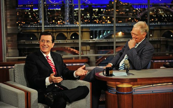 """I have nine months to make a show, just like a baby,"" Colbert said in a statement Monday. ""So first, ..."