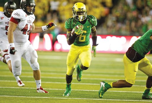 "Most of the sports world knows about De'Anthony Thomas, as the ""Black Mamba"" captured the nation's attention with his blazing ..."