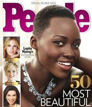 "Lupita Nyong'o is having quite the ride. The ""12 Years a Slave"" actress has won an Oscar for best supporting actress, signed a deal with cosmetics giant Lancôme to become its first black ambassador, and now People magazine has bestowed one of its highest honors on her - ""Most Beautiful person for 2014."""