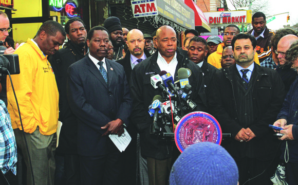 This is the message Shanduke McPhatter, a former member of the New York Bloods gang, delivered to gunmen at a ...