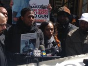 Council Member Jumaane Williams speaking on Ramarley Graham