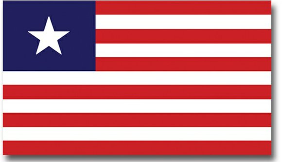 Representing hope for the economic future and future endeavors between Liberia and Dallas, the Liberian flag now hangs in Dallas ...