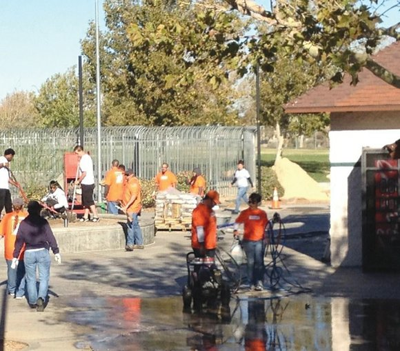 "The city of Palmdale will conclude its 2014 ""Season of Service"" program tomorrow with a ""Mormon Helping Hands Day"" clean ..."